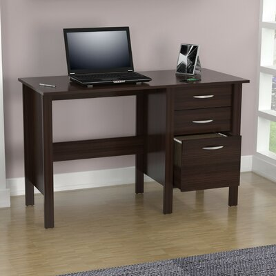 Inval Computer Desk with 3 Drawers