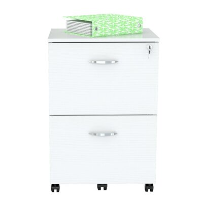 Inval 2 Drawer Mobile File