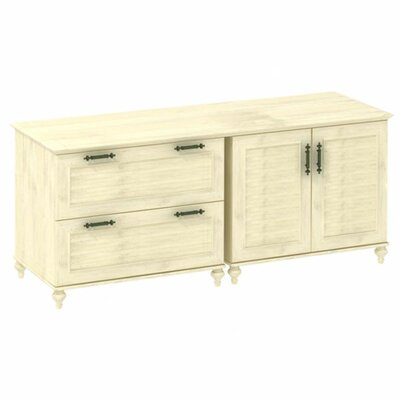 Kathy Ireland Office by Bush Volcano Dusk 2 Door Credenza