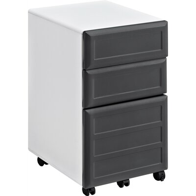 Latitude Run Elizabeth 3-Drawer Mobile Vertical File
