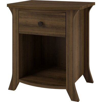 Altra Furniture Oakridge 1 Drawer Nightstand