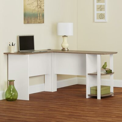 Andover Mills Salina L Shape Writing Desk Amp Reviews Wayfair