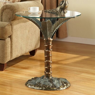 SPI Home Palm Tree End Table