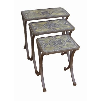 Paragon Casual Brookshire 3 Piece Nesting Tables