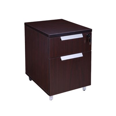 Boss Office Products Modular Laminate 2-Drawer Vertical File