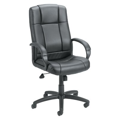 Boss Office Products Adjustable High-Back Caressoft Executive Chair