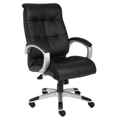 Boss Office Products High-Back Double Plush Executive Chair