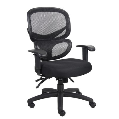 Boss Office Products Mid-Back Mesh Multi-Function Task Chair