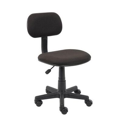 Boss Office Products Adjustable Steno Low Back Task Chair