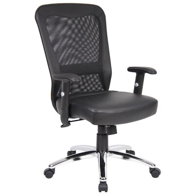 Boss Office Products High-Back Leather Offic..