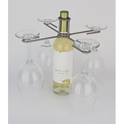 Metrotex Designs Industrial Evolution 1 Bottle Tabletop Wine Rack