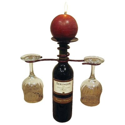 Metrotex Designs 1 Bottle Tabletop Wine Rack