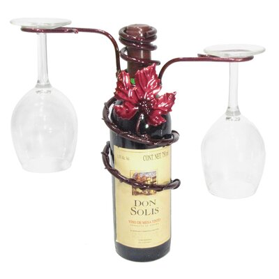 Metrotex Designs Grapevine 1 Bottle Tabletop Wine Rack