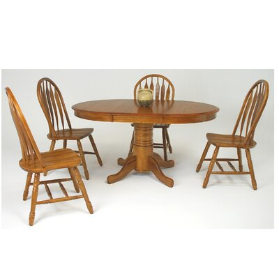 Mastercraft Collections Edgewood Extendable Dining Table