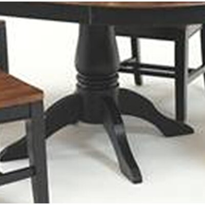 Mastercraft Collections Riverside Extendable Dining Table Base Only