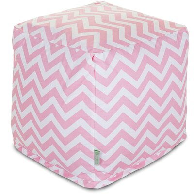 Majestic Home Goods Chevron Small Cube