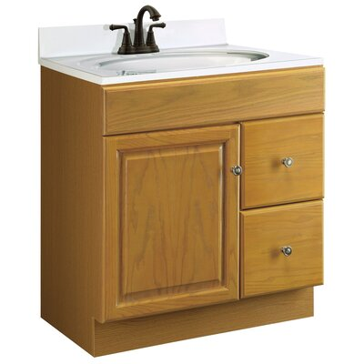 Design house claremont 30 single bathroom vanity base - Unassembled bathroom vanity cabinets ...