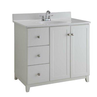 . Design House 36  Single Bathroom Vanity Base   Reviews   Wayfair