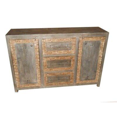 MOTI Furniture 3 Drawer Buffet