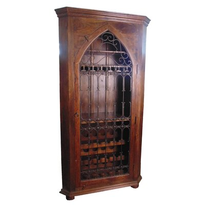 MOTI Furniture 30 Bottle Floor Wine Cabinet