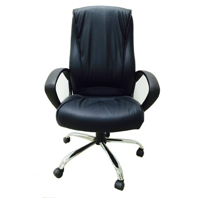 Winport Industries High-Back Executive Office Chair with Arms
