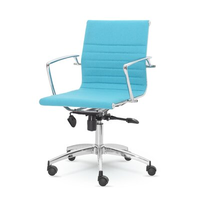 Winport Industries Winport Mid-Back Swivel Desk Chair
