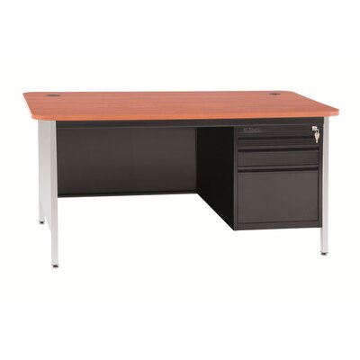 Winport Industries Winport Rosenberg Single Pedestal Teacher Desk