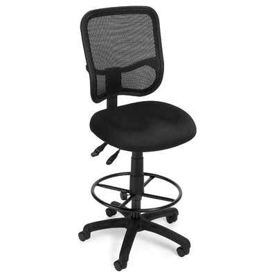 OFM Ergonomic Mid-Back Mesh Drafting Chair
