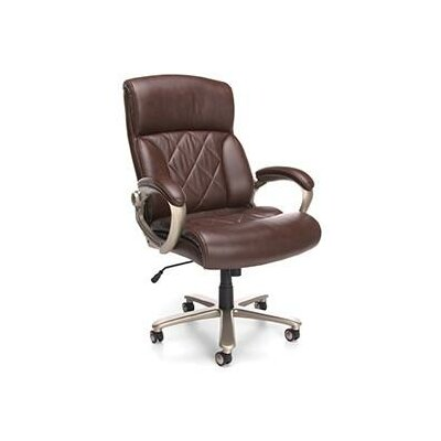 OFM Leather Executive Office Chair with Arms