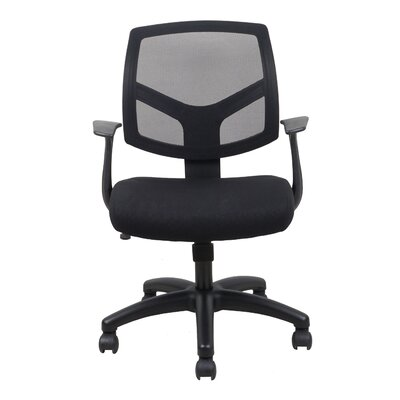 OFM Essentials Mid-Back Mesh Task Chair with Arms