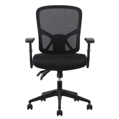 OFM Essentials Mid-Back Mesh Task Chair with Arms and Lumbar Support