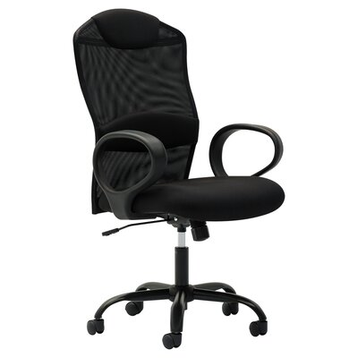 OFM Mesh High-Back Task Chair with Fixed Loop Arms