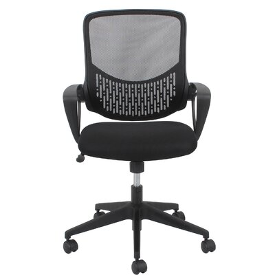 OFM Essentials Mid-Back Mesh Desk Chair with Arms