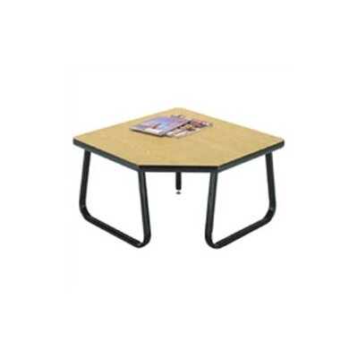 OFM Corner Table with Sled Base