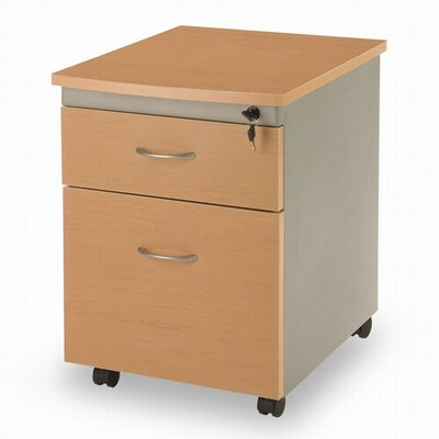 OFM Modular Mobile Pedestal 2-Drawer File / Box Cabinet