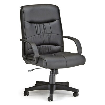 OFM Mid-Back Leatherette Executive Chair with Arms