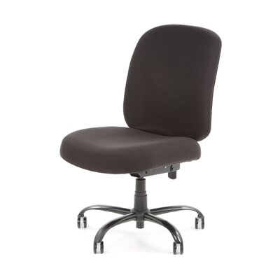 OFM Big and Tall Upholstered Armless Task..