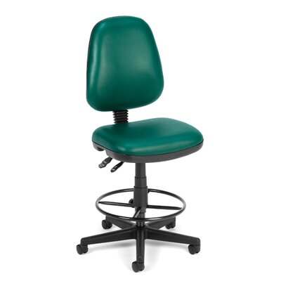 OFM Height Adjustable Drafting Chair with Gas Lift