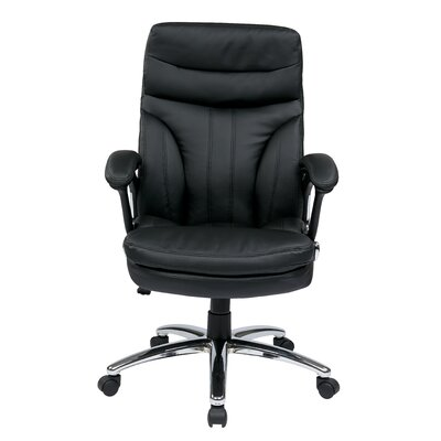Office Star Products High Back Executive Chair with Padded Arms