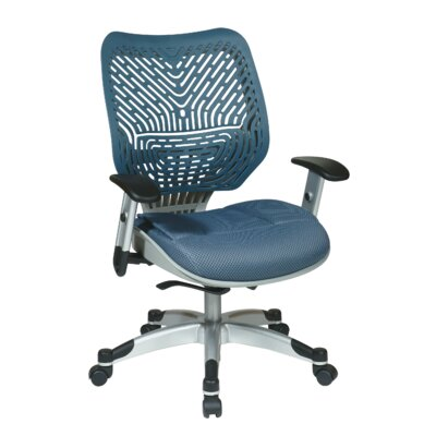 Office Star Products SPACE REVV Ice SpaceFlex Mid-Back Mesh Office Chair
