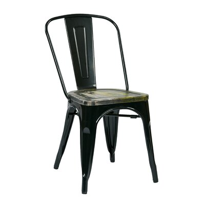Office Star Products Bristow Metal Side Chair (Set of 4)
