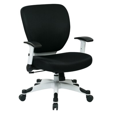 Office Star Products Pulsar Mesh Managers Hight Back Chair with Height Adjustable Flip Arms