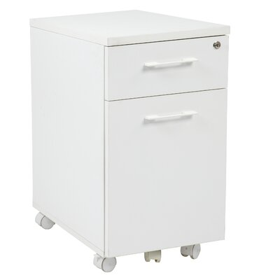 Office Star Products Prado 2 Drawer Mobile File