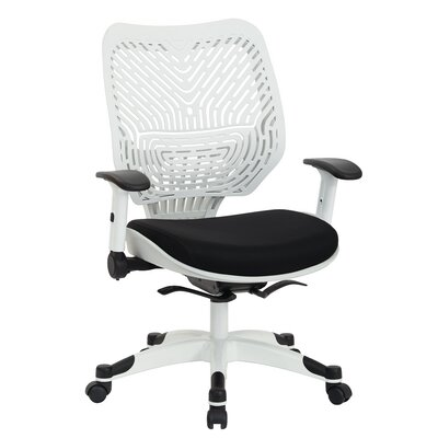 Office Star Products Pulsar Mid-Back Mesh Manager Chair with Height Adjustable Flip Arms