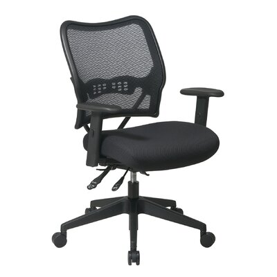 Office Star Products Space Conference's Chair with Air Grid Back and Mesh Seat