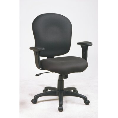 Office Star Products Sculptured Mid-Back ..
