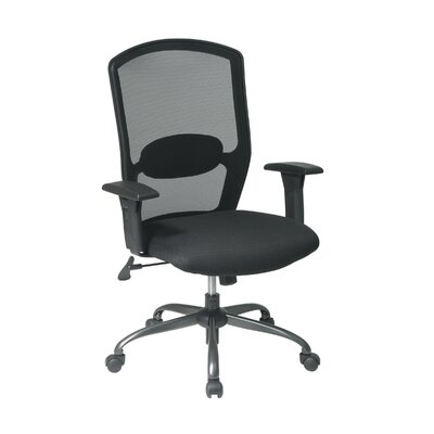 Office Star Products Screen Back Mesh Seat Office Chair Image