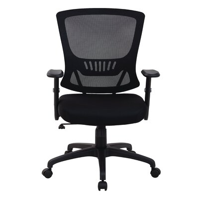 Office Star Products Mid-Back Mesh Office Chair with Arms