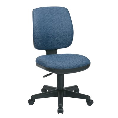 Office Star Products Work Smart Mid-Back Deluxe Task Chair Image
