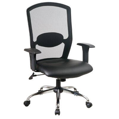 Office Star Products Screen Mid-Back M..
